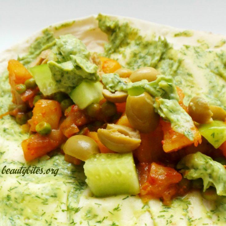 Healthy Vegan Potato Tacos