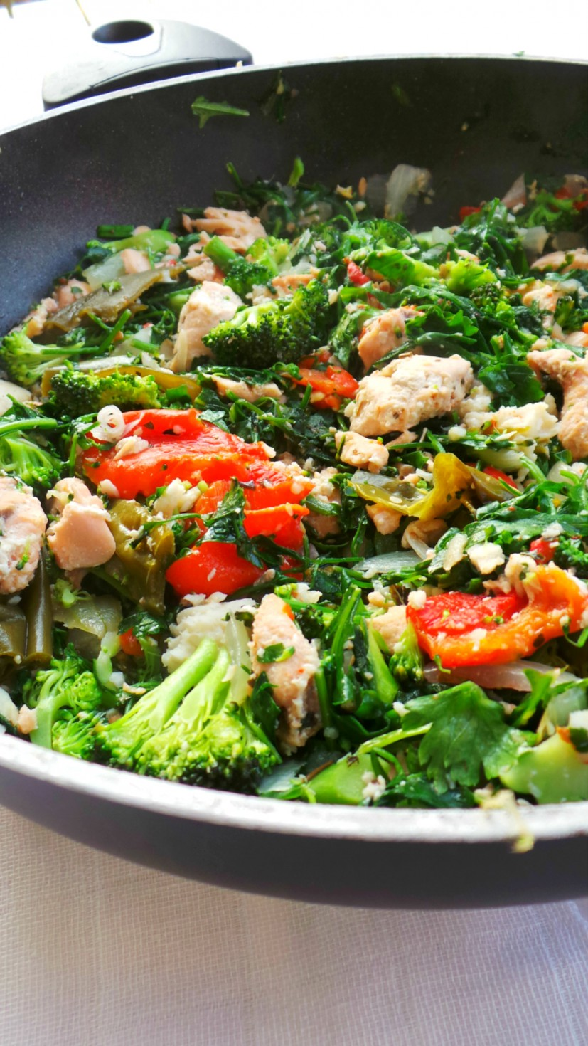 Flavorful Fish and Vegetables