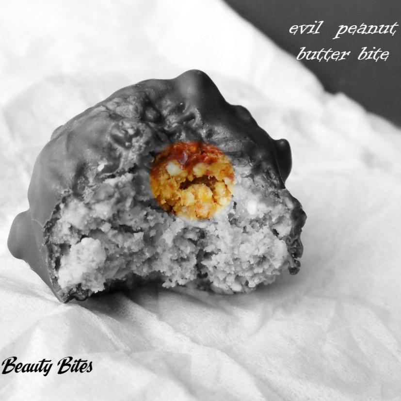 evil peanut butter bite