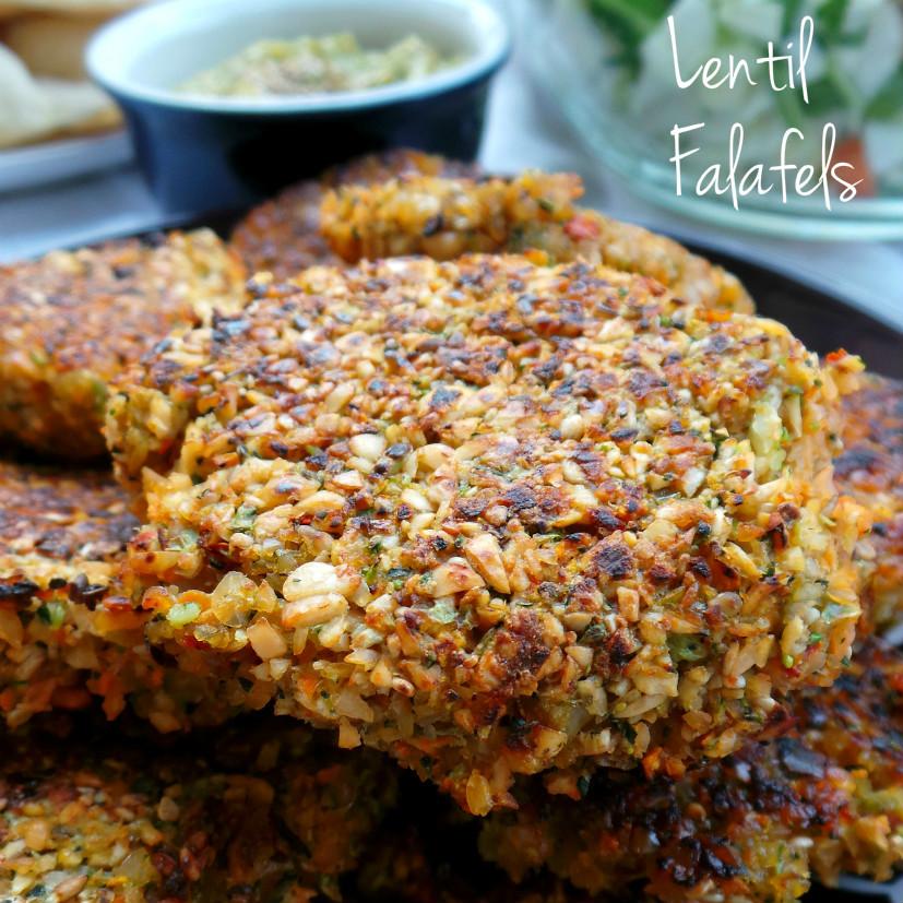 Lentil Falafels