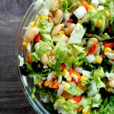 8-Minute High-Fiber Salad