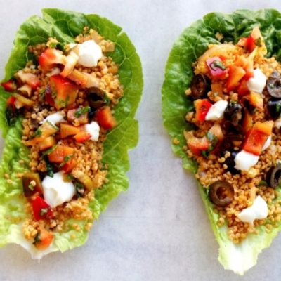 Beauty Food Recipes – Lettuce Wraps with Hot Millet