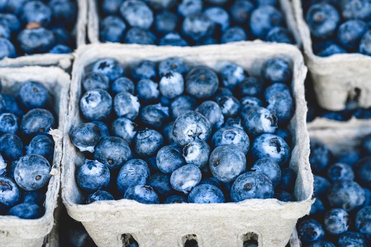 blueberries - best sources of vitamin C