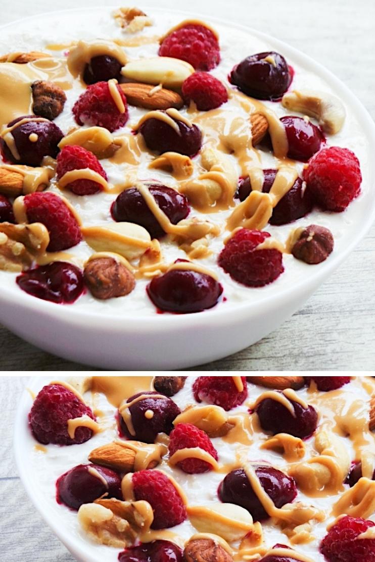Healthy Overnight Oats With Yogurt - Beauty Bites