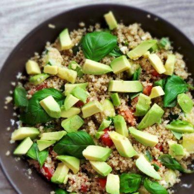 Healthy Quinoa Summer Salad