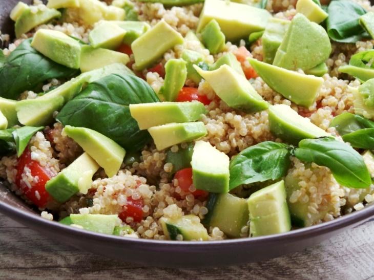 avocado quinoa summer salad recipe