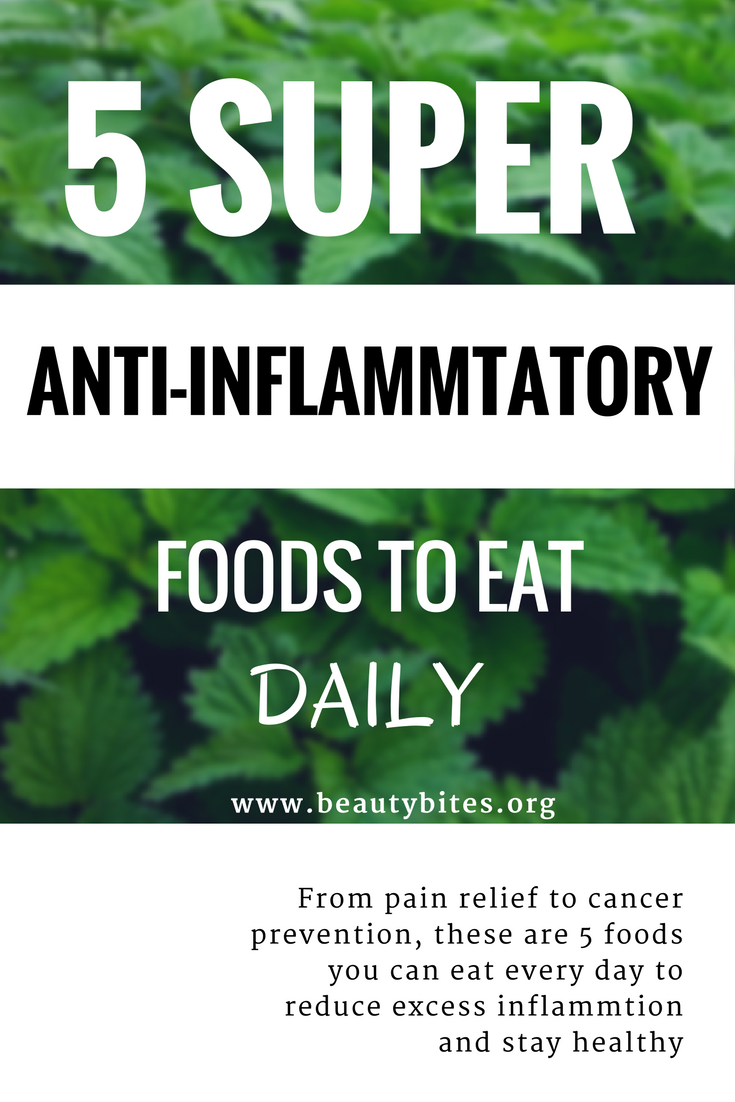 5 anti-inflammatory foods you need to eat daily