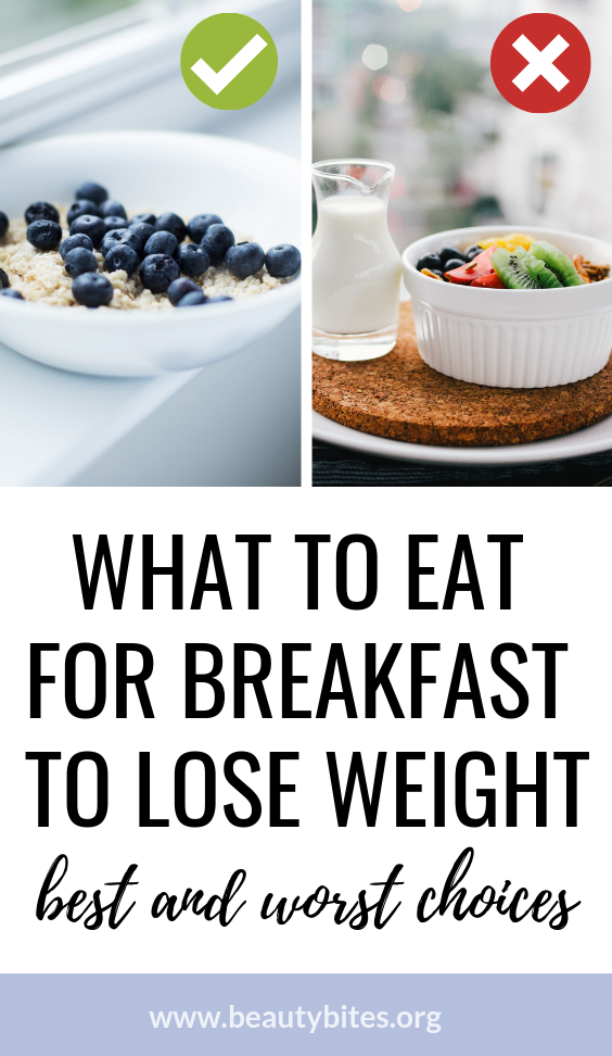 - If you're looking for some easy healthy breakfast ideas that can help you lose weight, make sure to read this first, so you can make the right choice. Eggs and meat might not be the best one, but it's also not the worst. Find out which clean eating breakfast can support weight loss and improve your overall health!