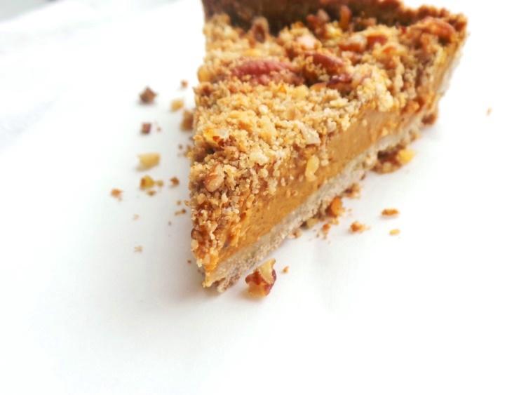 butternut crumble pie