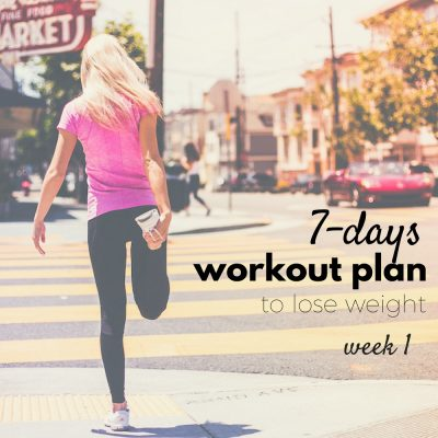 7-Day At Home Workout Plan To Lose Weight