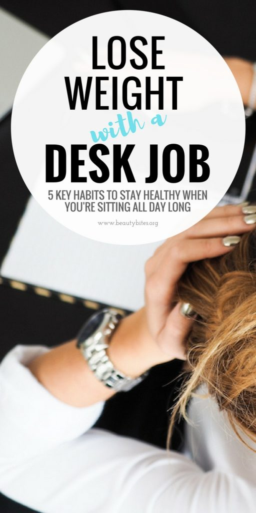 Losing weight when you work in an office is hard! Even though you exercise, eat healthy and count calories you might still have a trouble to lose weight with a desk job! It makes it especially tough to lose belly fat. Discover what to do to lose belly fat and weight and how to burn more calories, even when you're sitting all day long!