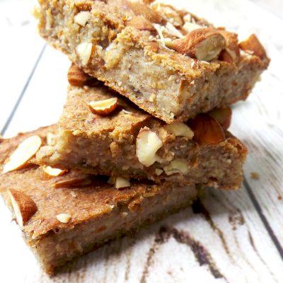 Healthy Banana Bread – Vegan, High-Fiber, No Sugar / Flour