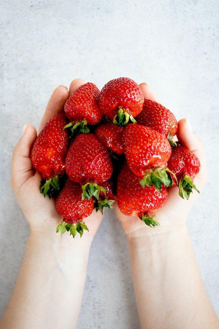 strawberries - healthy snack