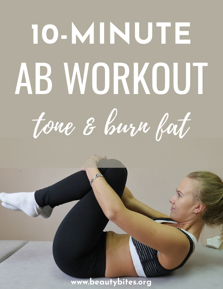 The Burn Belly Fat Workout! Try this ab workout for a flat stomach - if you're consistent and keep a healthy diet too, you'll start seeing results in 2 weeks. This is a fat-burning at home workout that will also tone your abs and strenghten your core. It takes around 10 minutes and includes elements of HIIT and strengthening.