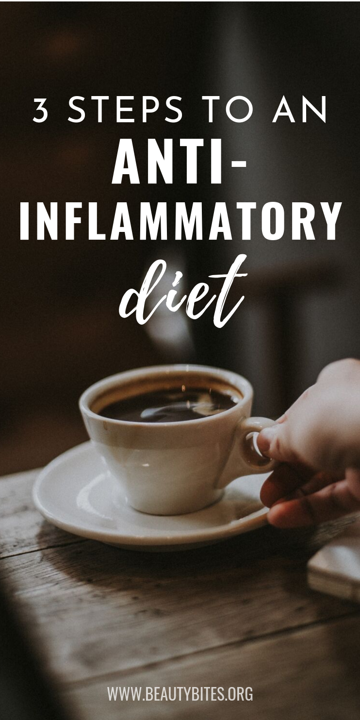 3 key steps to an anti-inflammatory diet and making anti-inflammatory recipes and which anti-inflammatory foods to eat! | Clean Eating For Beginners