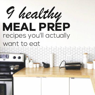 15 Healthy No Chicken Meal Prep Recipes