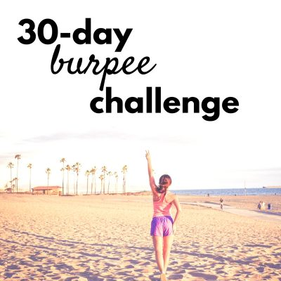 My Simple 30 Day Burpee Challenge