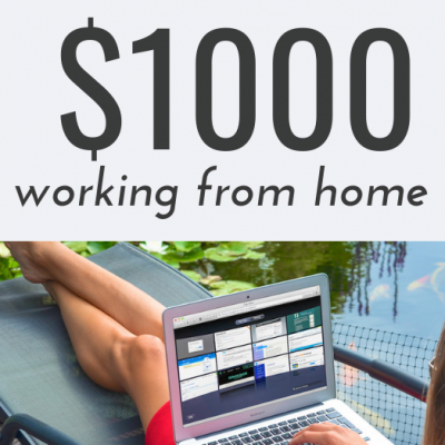 How to make your first $1000 blogging