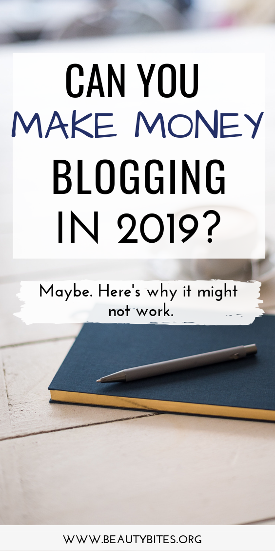 Can you make money with a blog in 2019? Here we're answering this question and sharing my experience + some of the best blogging tips for beginners (and beyond), also some blogging ideas to help grow your traffic.