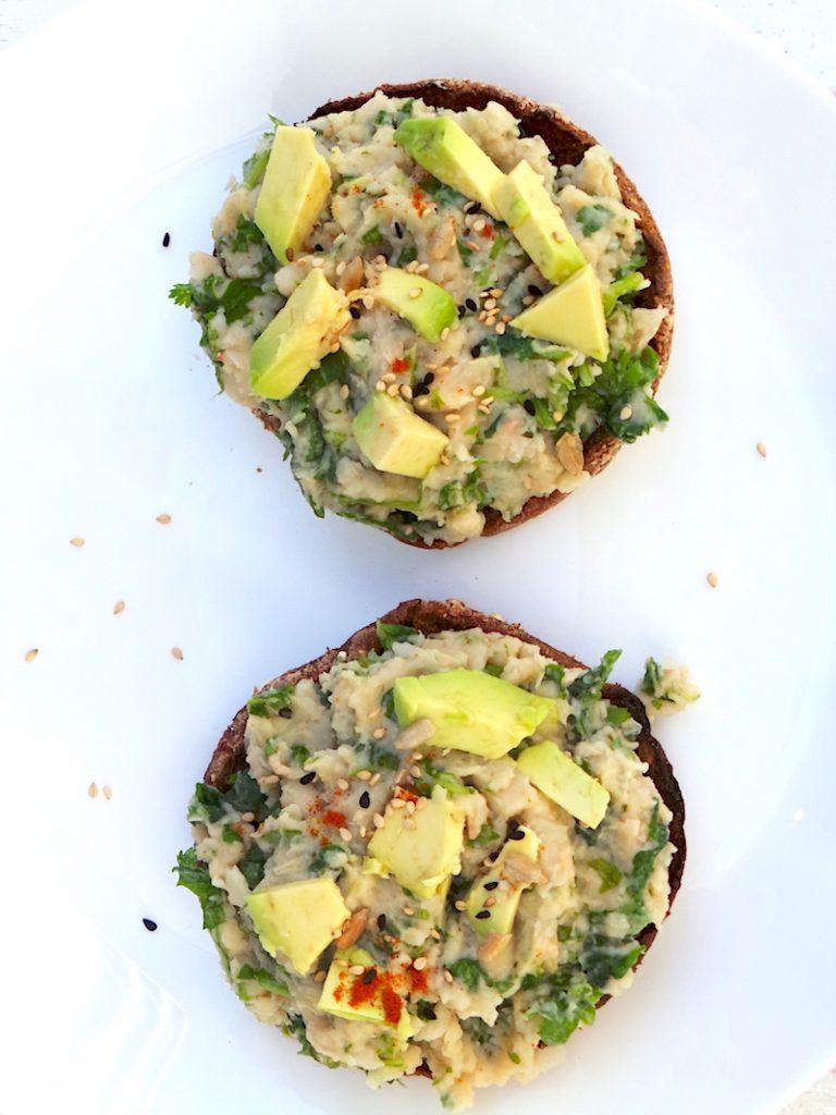 Mashed White Bean Salad – 5-Minute, Vegan