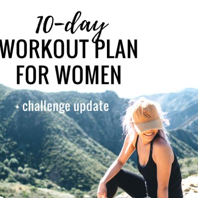 Free 10-Day At Home Workout Plan For Women