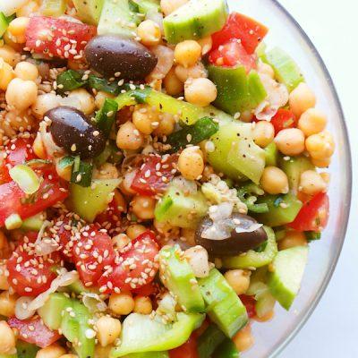 Tomato Chickpea Salad, The Third