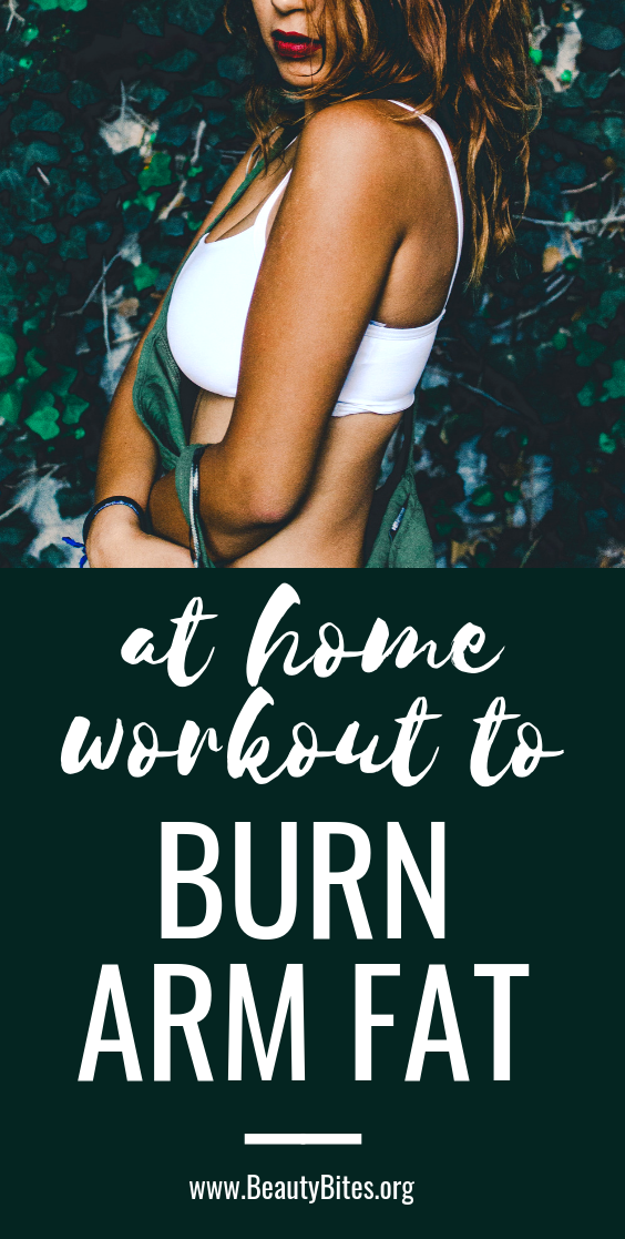 Quick arm workout for women to burn arm fat! Tone your arms and lose fat, with this quick at home workout routine!