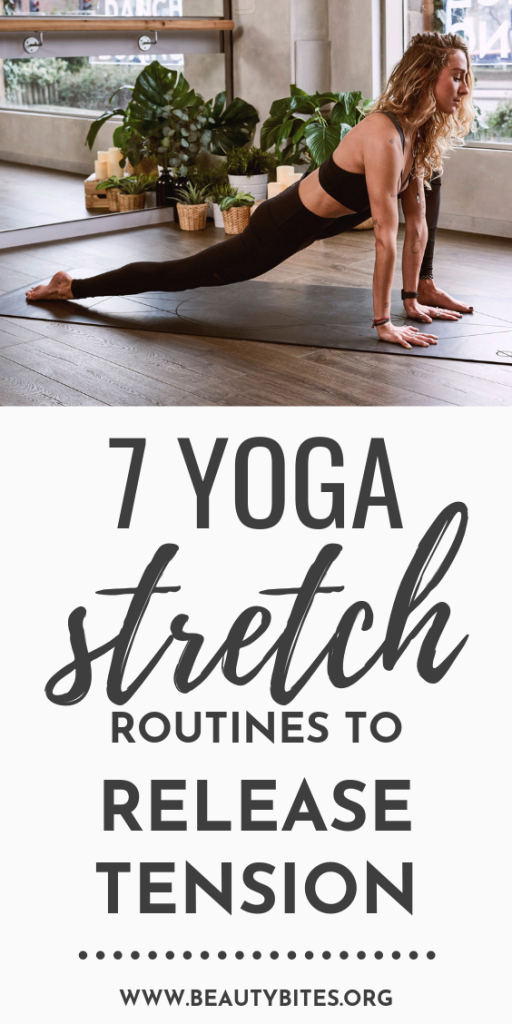 7 full-body yoga stretch routines to improve flexibility and release tension! Watch these yoga videos and if you don't have time for everything, at least give some of these yoga poses a try! You'll feel brand new!