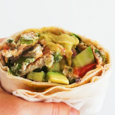 Tuna Wraps – High Protein Recipe For Meal Prep