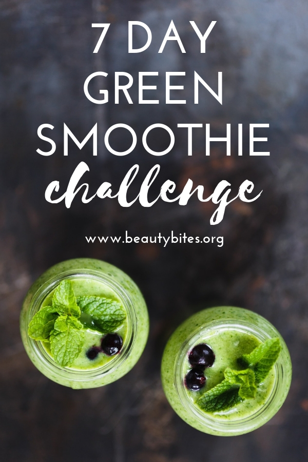 7-day green smoothie challenge to lose weight, improve your skin, to feel good and to start craving real food again! Start with these green smoothie recipes and tips and find out what you really like during the next 7 days.