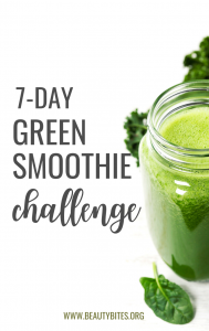 7-day green smoothie challenge with delicious healthy green smoothie recipes for energy and health! This is a fun healthy challenge to develop a new healthy habit that can benefit your health greatly, namely having a green smoothie every day. Give it a try!