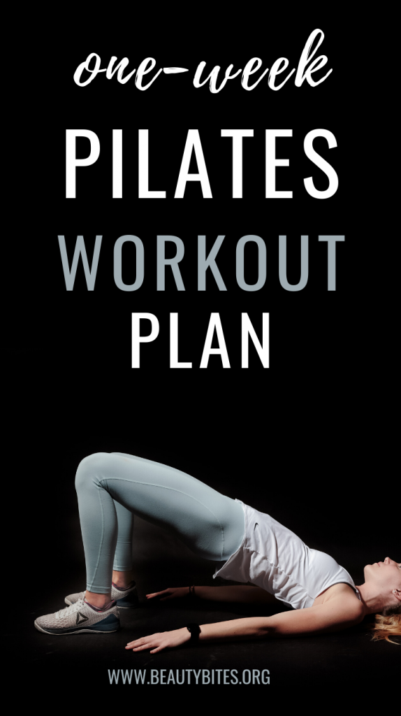 7-Day Pilates workout plan to get leaner and stronger! This pilates challenge includes pilates cardio routines, pilates abs workouts and full-body pilates workouts!