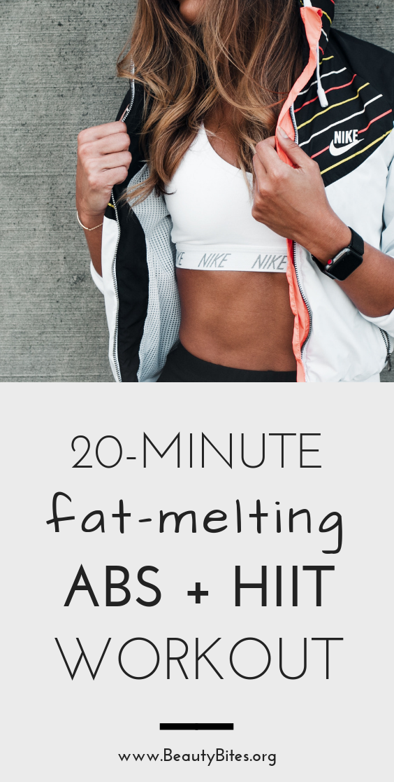 Try this quick abs workout at home or at the gym to tone your abs, burn fat and improve posture! This is a great exercise routine for beginners and great for women to tone the obliques and lower abs. Don't forget to do 10 minutes of HIIT or cardio after these ab exercises to burn belly fat.