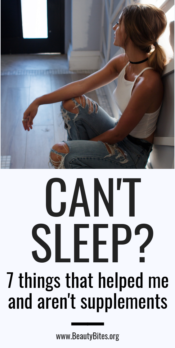 How to sleep better at night! If you can't fall asleep and don't feel rested during the day, check out these tips that helped me get better sleep, while going to bed early and waking up at 6am every day.