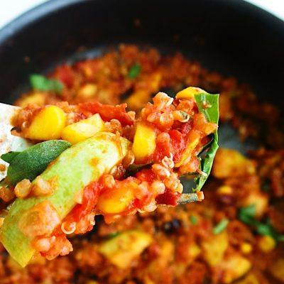 Easy Quinoa Risotto – Healthy Vegan Dinner Recipe