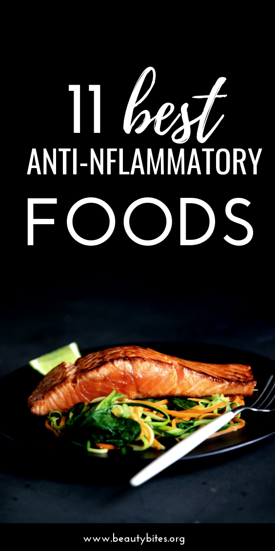11 healing foods that can reduce inflammation. Include these foods in your meal plan, if you want to eat an anti-inflammatory diet. | anti-inflammatory foods | anti-inflammatory diet plan | inflammation diet | anti-inflammatory diet recipes