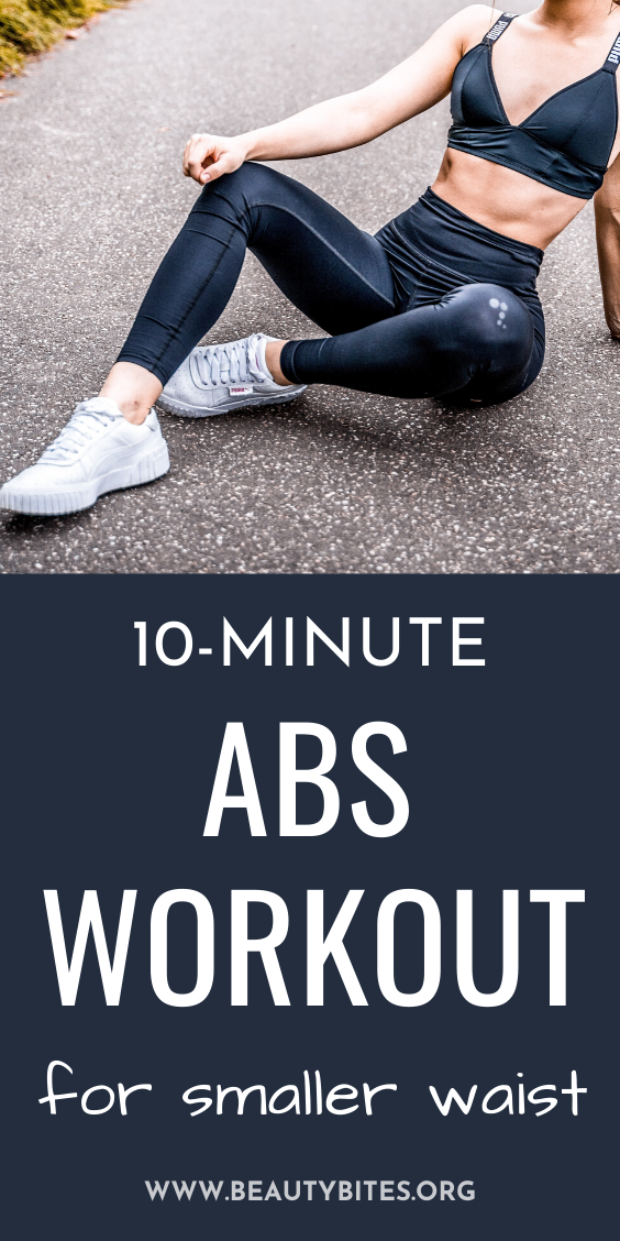 10 minute abs workout to tone and strengthen! This workout is made out of 5 abs exercises to target your obliques - side planks, Russian twists and some more! Strengthen your core to look better and to feel better!