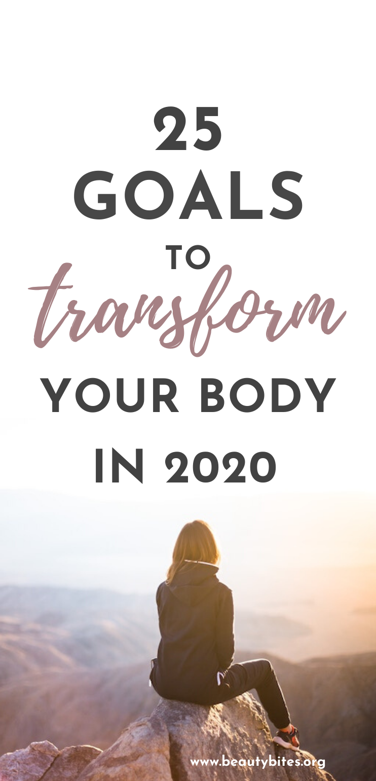 A list of 25 goal ideas for everyone who needs some inspiration and motivation with their health and fitness goals this year! Find out also how to make your New Years resolutions a reality. #goals #fitness #motivation