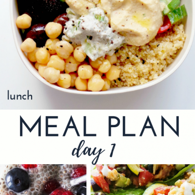 7-Day Clean Eating Challenge & Meal Plan #3