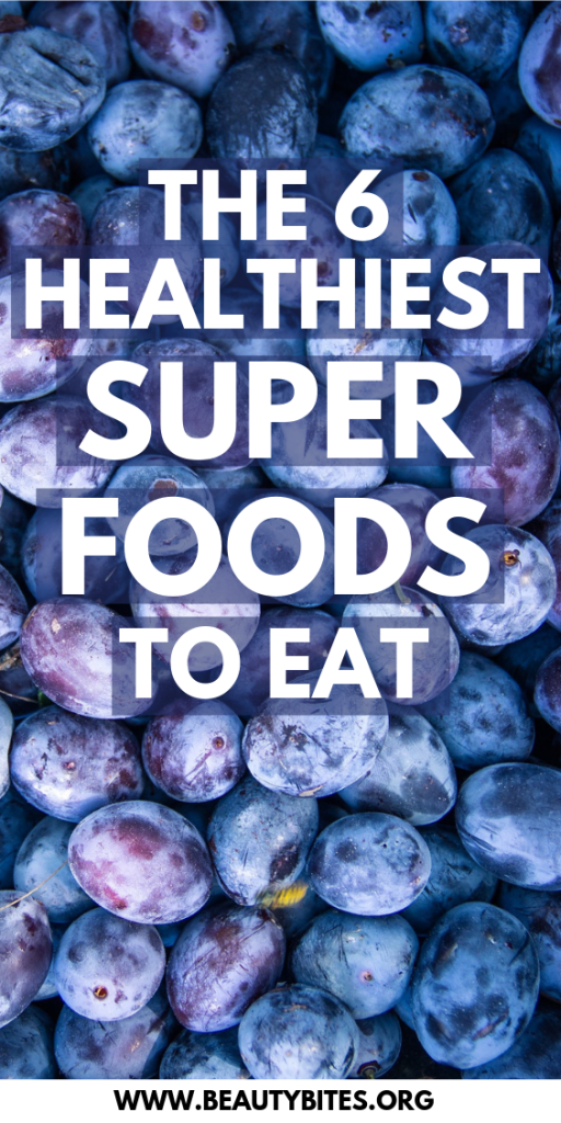 The six healthiest foods to eat - this secret superfood list is short, but it can help you discover the health benefits of various antioxidant and anti-inflammatory foods that you can easily find as you walk outside. | Clean Eating For Beginners