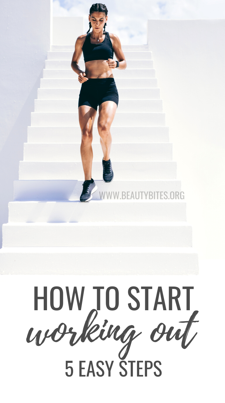 Exercise for beginners: How to start working out! 5 health and fitness tips that will help you get started, so you can lose weight, be healthier and reach your health and fitness goals.