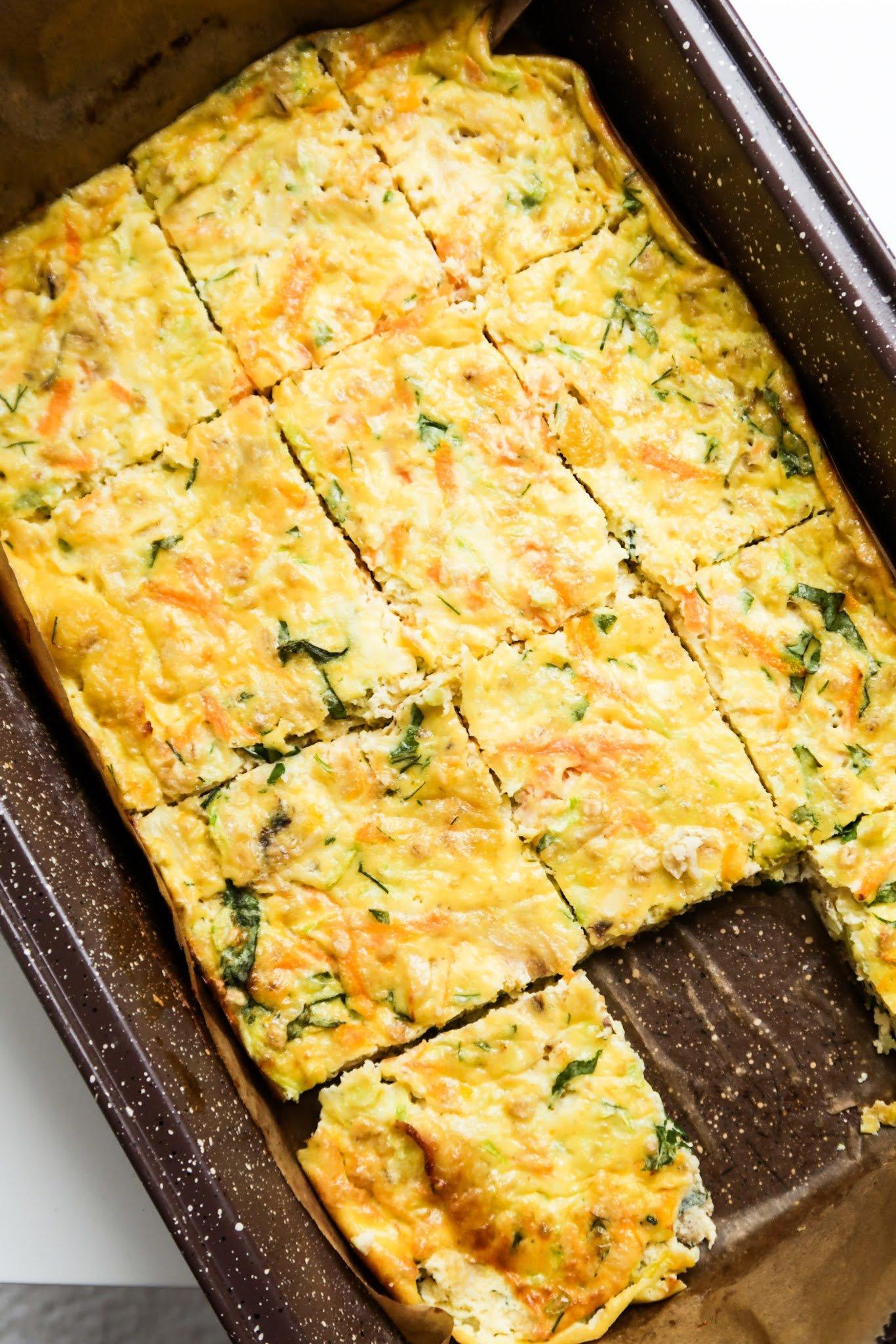 breakfast egg bake recipe