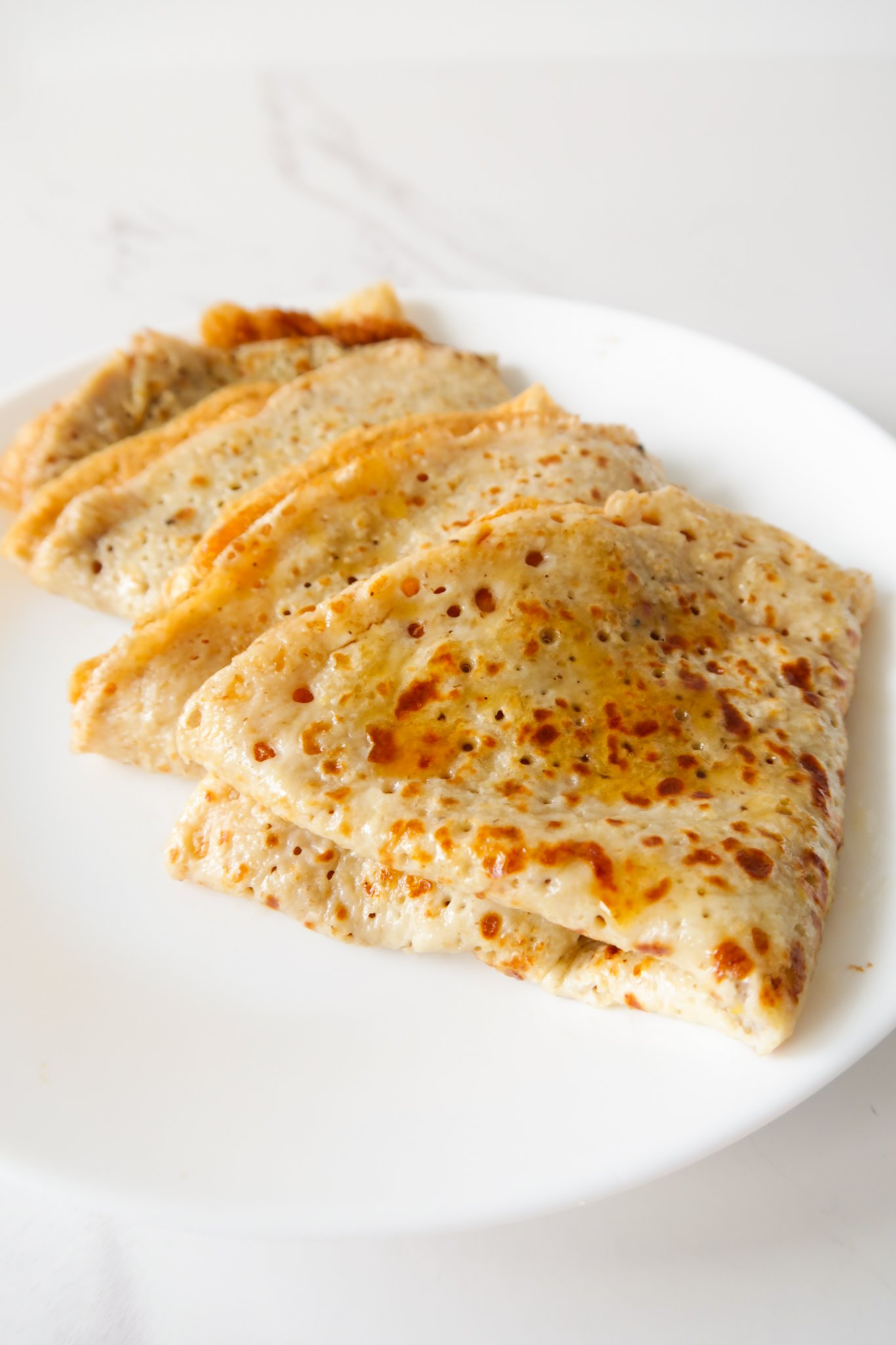 oatmeal crepes - easy breakfast recipe