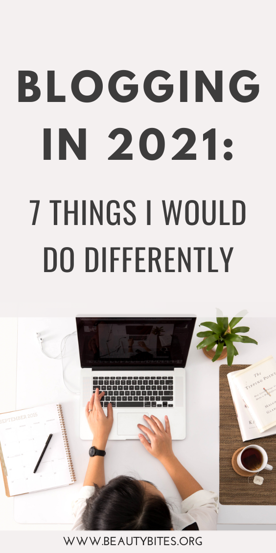 Blogging in 2021: The things I'm doing differently this year! These blogging tips for beginners and beyond will help you start and grow your blog, and that in turn can help you make money blogging!
