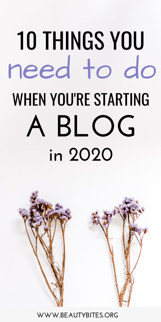 10 important steps for beginner bloggers! Blogging tips and ideas to help you start a blog and make money blogging!