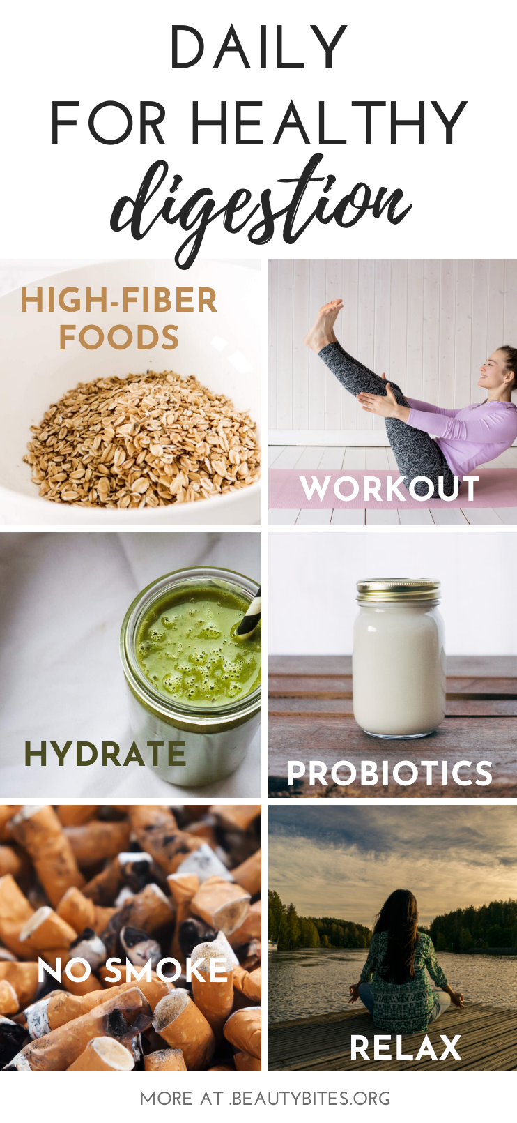 7 daily healthy habits for healthy digestion Make these activities a part of your daily routine for better overall health, better skin and healthy gut.