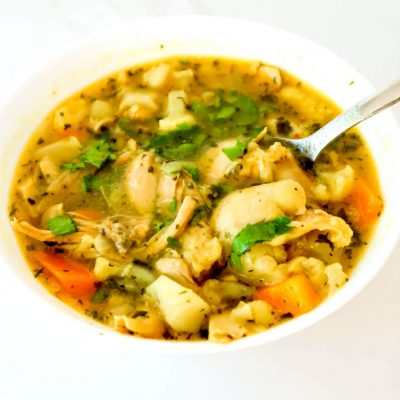 Homemade Anti-Inflammatory Chicken Soup