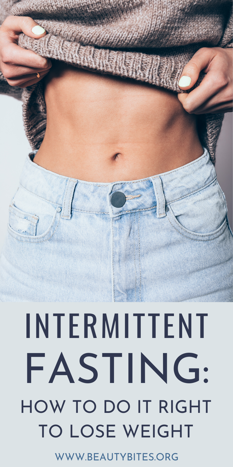 Intermittent fasting for beginners - how to do it right to lose weight and feel great! Intermittent fasting has so many health benefits, helps with weight loss and it's super easy to do. We talk about 3 types of intermittent fasting that could work for you and different intermittent fasting schedules 16:8, 5:2 and alternate day fasting, we share a meal plan you can start when intermittent fasting and what foods to eat when intermittent fasting.