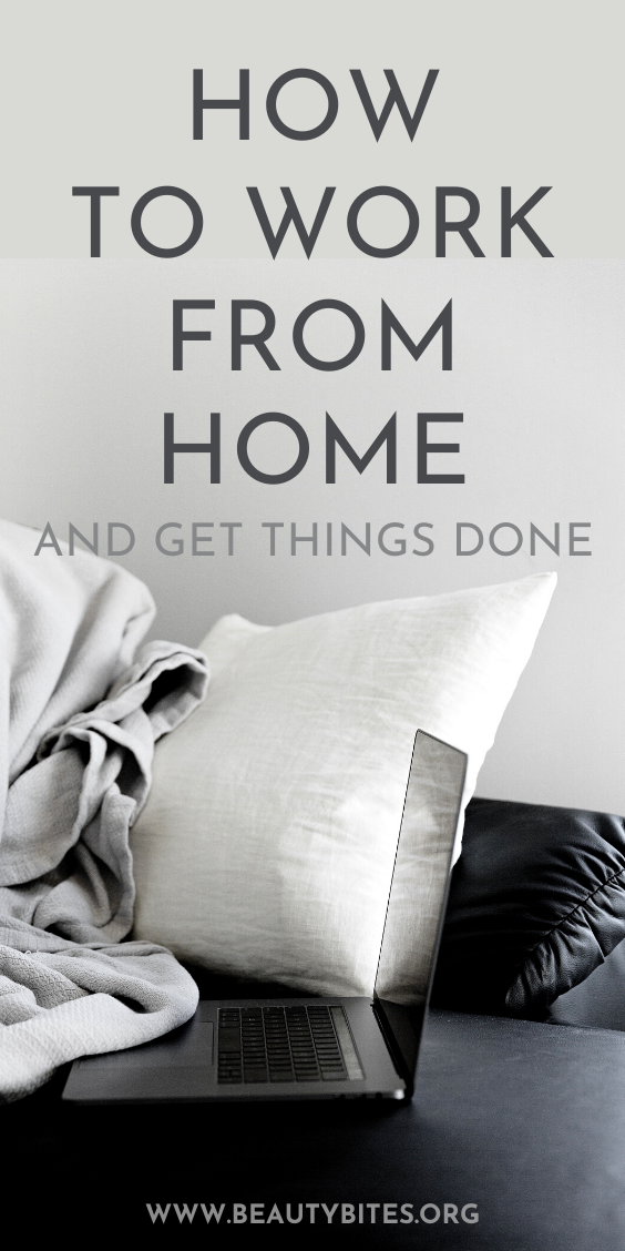 How to work from home when you're used to going to an office...Maybe you want to earn extra money, maybe you need to stay home for another reason...These work from home tips will improve your organization, your time management skills and will give you the motivation to actually get things done, even when you can't get out of the house. Be productive in this distracted world, even when you work from home with your kids and other family in there as well!