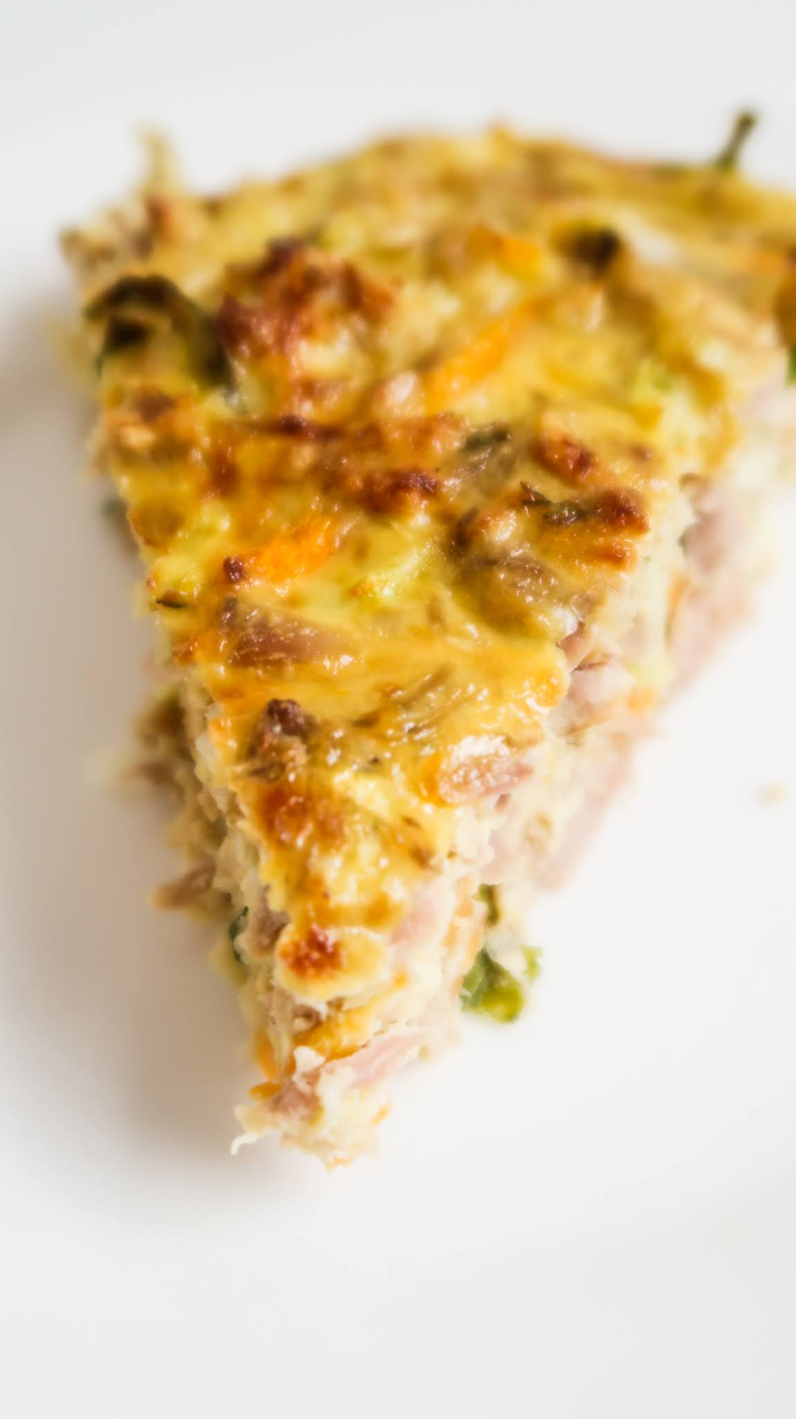 Crustless Tuna Quiche Recipe: Easy healthy lunch idea